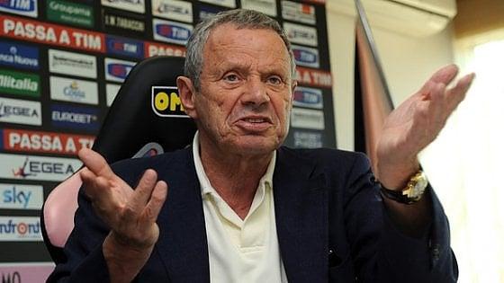 """Zamparini chiama a raccolta i tifosi: """"Conti in ordine, ma in A si va tutti insieme"""""""