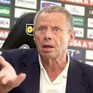 """Zamparini: """"L'ipotesi play-off non mi spaventa. L'importante è andare in A"""""""