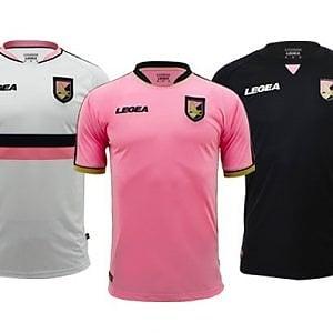 Palermo, ecco le maglie della nuova stagione