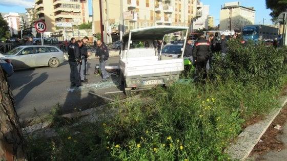 Palermo, contromano per sfuggire alla polizia: quattro feriti in viale Regione Siciliana