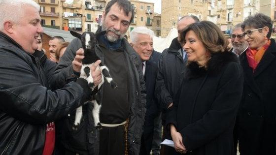 Palermo: presidente del Senato in visita al rione Danisinni