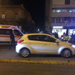 Palermo, travolta da una moto; donna ricoverata al Civico