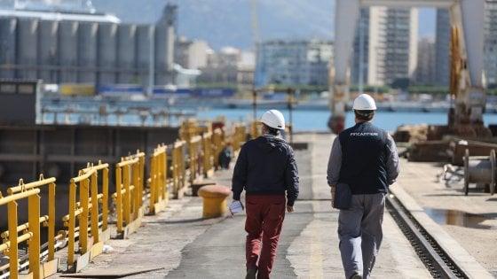 Palermo, arrivano da Roma 75 milioni per il bacino di carenaggio del Cantiere