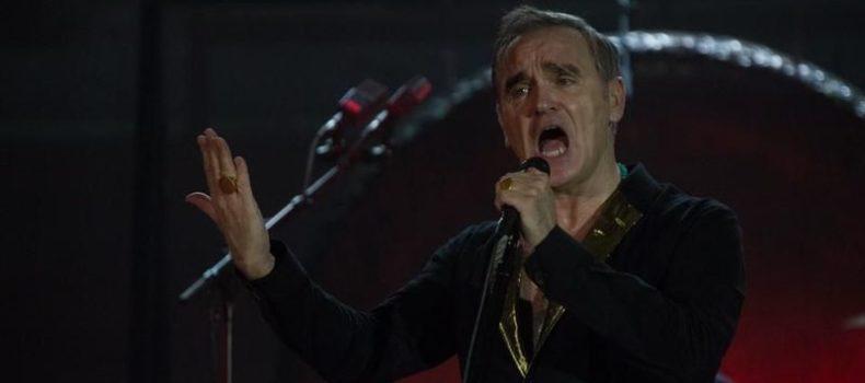 Morrissey in TV promuove il suo disco (e l'estrema destra UK)